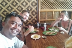 We Offer You Affordable Price and Best Tour Offer-Having lunch-Balinese food