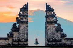 Lempuyang Temple - gate of heaven - trekking to Lempuyang hill - best activity- edy ubud tour