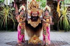 Barong and keris dance - traditional Balinese performance