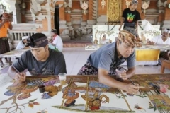Batuan Village famous Balinese Artwork and Balinese paintings