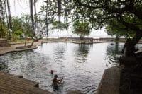 Air sanih nature hot spring - bali full day tour