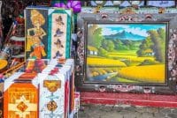 balinese traditional painting-the real art of Ubud