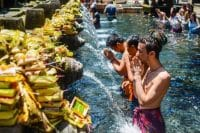 Holy water at Tirta Empul Tampaksiring - Spiritual journey
