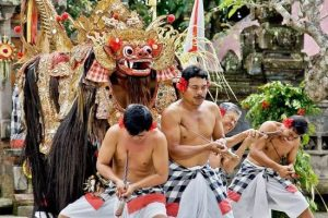 barong and keris Balinese dance performance-entrance fee