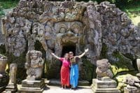 the elephant cave temple in Ubud